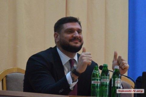 Голова Миколаївської області Савченко повернувся до роботи