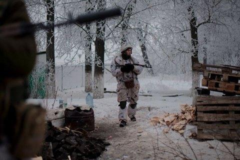 З початку доби на Донбасі поранений один боєць АТО
