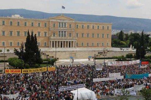 Держслужбовці Афін вийшли на 24-годинний страйк через низькі зарплати