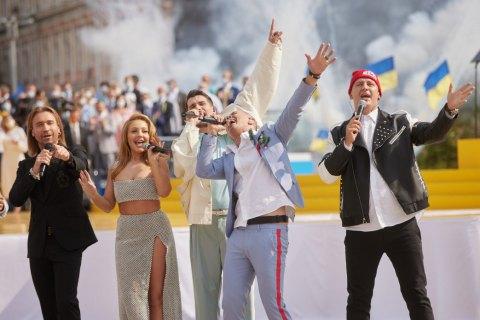 """""""Океан Ельзи"""" та """"Бумбокс"""" не дозволяли використовувати свої пісні на концерті до Дня Незалежності"""