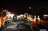 В Китае произошло ДТП с участием 31 авто, 15 человек погибли