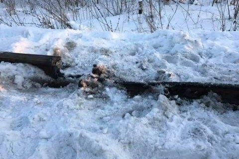 В Луганской области повредили железную дорогу, которую блокируют ветераны АТО