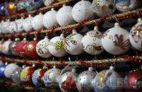 Украина увеличила экспорт новогодних украшений
