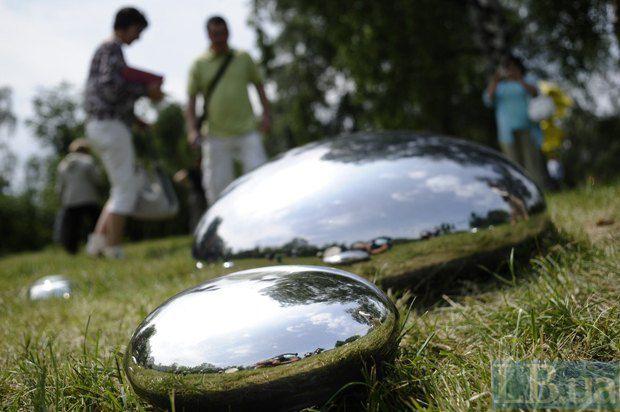 Експонат Фестивалю сучасної скульптури
