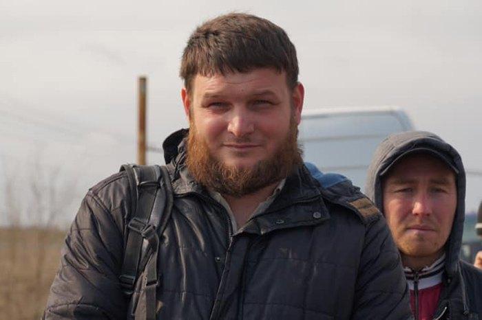Ремзи Бекиров. Был задержан вчера, 26 марта 2019 года на границе по причине якобы испорченного паспорт