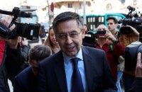 """Експрезидента """"Барселони"""" випустили з-під арешту під заставу"""