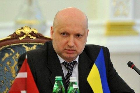 """Турчинов обвинил Россию в ведении """"гибридной войны"""" против Евросоюза"""
