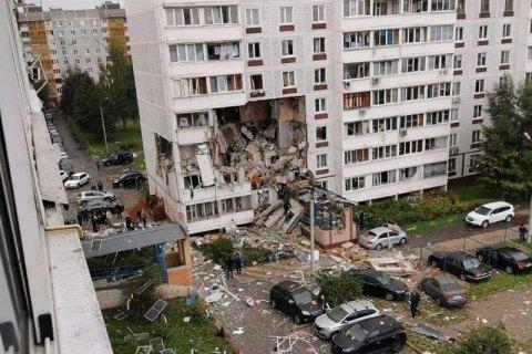 Під Москвою через вибух у житловому будинку обвалилися стіни трьох поверхів