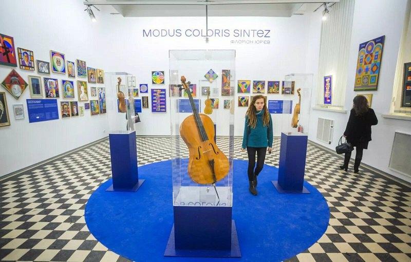 Виставка Флоріана Юр'єва в NAMU, 2019