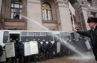 МВД: оппозиция призывает митингующих к силовому захвату админзданий