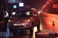 У Броварах позашляховик збив літню жінку, яка перебігала дорогу