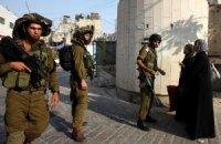 Израиль проводит обыски в офисах палестинских НПО