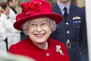 Королева Елизавета ІІ принимает Обаму