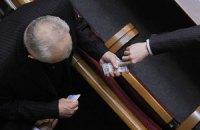 Рада приняла изменения в регламент об изъятии карточек депутатов