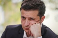 КМИС: рейтинг одобрения Зеленского впервые упал ниже 40%