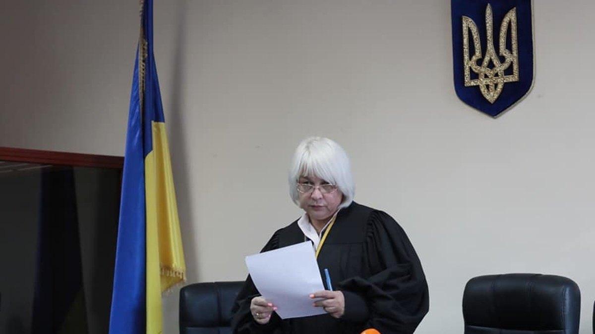 Суддя Печерського суду Світлана Смик