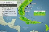 """Тропічний шторм """"Ельза"""" почав рух із Куби до Флориди"""