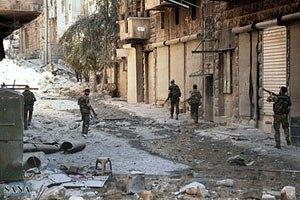 В Сирии две оппозиционные группы устроили кровавую перестрелку