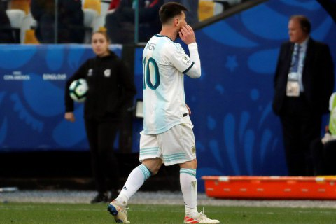 Над Месси нависла угроза 2-годичной дисквалификации выступлений за сборную Аргентины