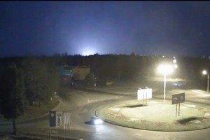 У районі луганського аеропорту пролунав сильний вибух (ОНОВЛЕНО)