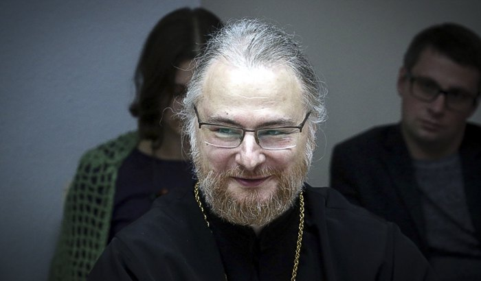 Председатель Синодального отдела Белорусской Православной Церкви протоиерей Сергий Лепин