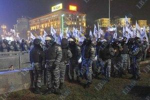 На Майдан подтянулись бойцы Беркута