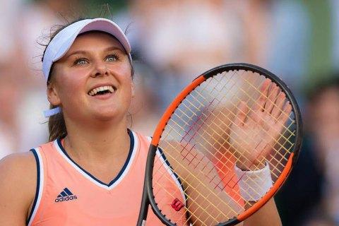 На тенісному турнірі в Чикаго пройшло українське дербі