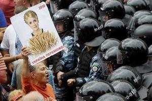 Больницу с Тимошенко охраняет несколько десятков милиционеров