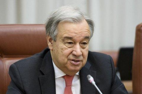 Генсек ООН готовий стати посередником для врегулювання ситуації навколо КНДР