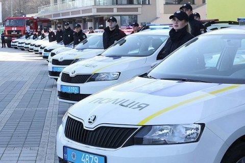 Поліція і підрозділи ДержНС отримали нові автомобілі та катери