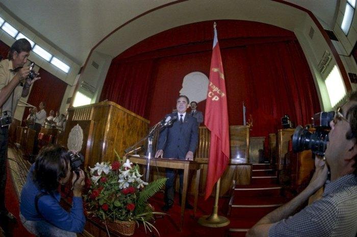 Перший президент Татарської РСР Мінтімер Шаймієв.