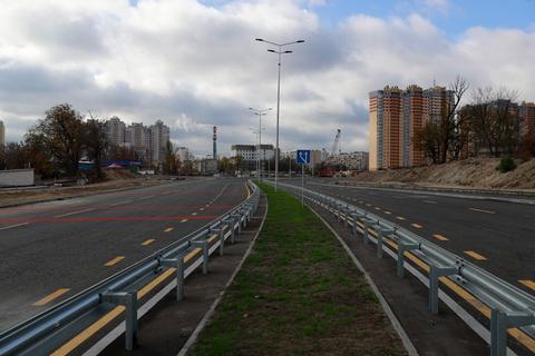 Кличко оголосив про завершення будівництва ділянки Окружної від Рокоссовського до Сім'ї Кульженко