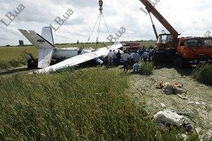 В аварии самолета под Киевом могут быть виновны пилоты, - прокуратура