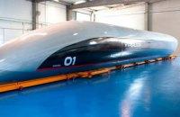 В Испании показали первую пассажирскую капсулу Hyperloop