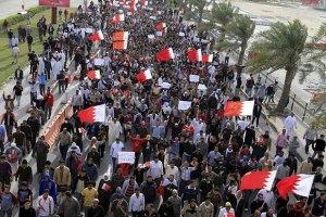 Столицу Бахрейна охватили массовые акции протеста
