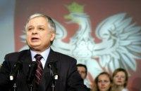 Качиньский: с Бандерой Украина в Европу не войдет