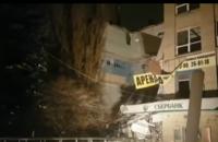 У російському Новочеркаську обвалилася стіна чотириповерхового будинку