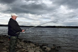 Немцу грозит до шести месяцев тюрьмы за фальшивую рыбалку