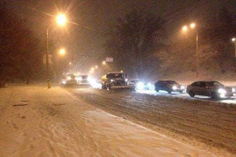 У вівторок у Києві невеликий сніг, до -6