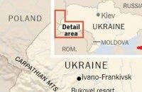 The New York Times опубликовало материал с картой Украины без Крыма