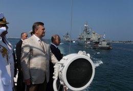 Янукович и Путин уехали из Севастополя