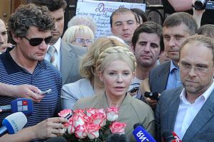 Тимошенко освободили лишь под давлением общественности