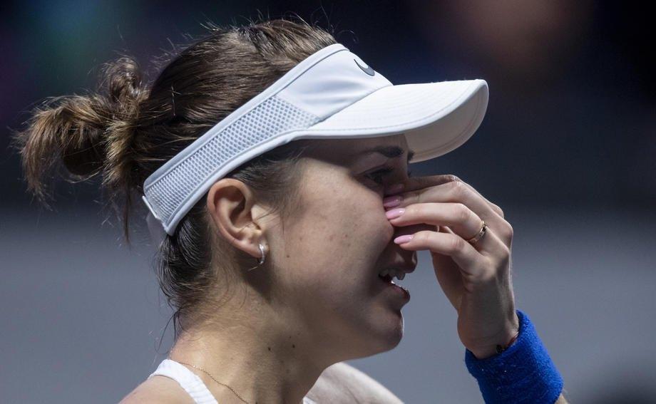 Свитолина остановилась вшаге от 2-го  подряд триумфа наитоговом турнире