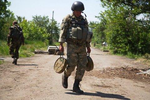 Військові відбили напад бойовиків на Мар'їнку