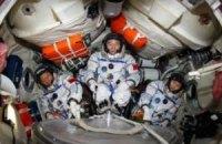 Китайські космонавти пристикувався до орбітального модуля