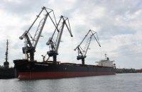 """В порту """"Южный"""" за 59 часов разгрузили первое судно с углем из ЮАР"""