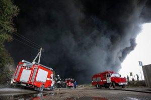 Забруднення повітря через пожежу на нафтобазі не перевищує норму