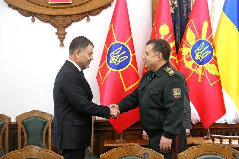Міноборони України і Молдови домовилися про активну співпрацю