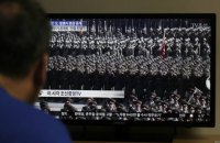 КНДР провела военный парад в преддверии Олимпиады