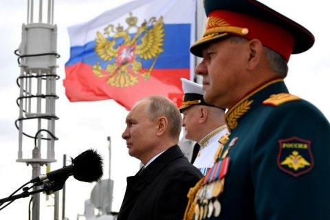 """Путін заявив, що російський флот здатен завдати """"невідворотного удару"""""""